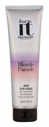 ALFAPARF THAT'S IT BLONDE PARADE MASK EVERY BLONDE MASKA DO BLOND WŁOSÓW 150 ML.