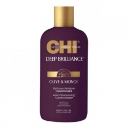 FAROUK CHI DEEP BRILLIANCE OLIVE & MONOI CONDITIONER ODŻYWKA DO SUCHYCH WŁOSÓW 355 ML.