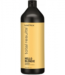 MATRIX TOTAL RESULTS HELLO BLONDIE SZAMPON DO BLOND WŁOSÓW 1000 ML.