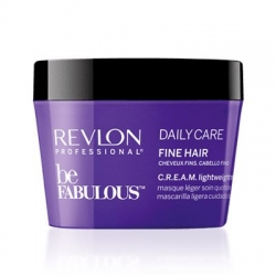 REVLON BE FABULOUS DAILY CARE MASKA DO CIENKICH WŁOSÓW 200 ML.