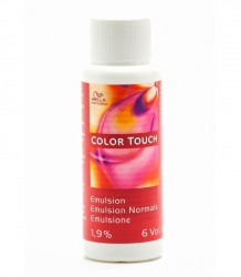 WELLA PROFESSIONALS COLOR TOUCH WODA UTLENIONA W KREMIE 1,9% 60 ML.
